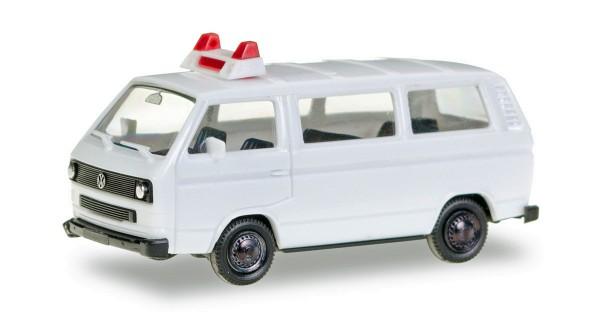 Herpa 012966 - Herpa Minikit VW T3 Bus, unbedruckt - 1:87