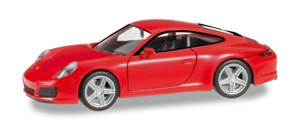 Herpa 028646 - Porsche 911 Carrera 4, indischrot - 1:87