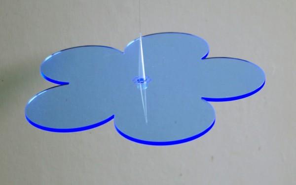 Lichtzauber Sonnenfänger - Blume klein, Ø 12 cm, blau (Elliot 1019080)