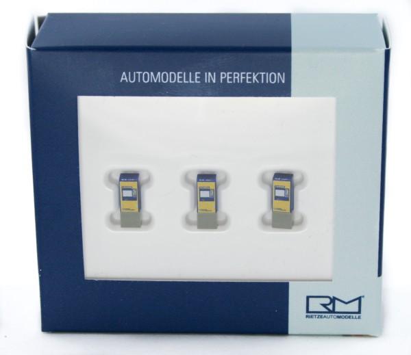Rietze 16403 - Fahrkartenautomat NS Group N.V (NL) 3 Stück - 1:160