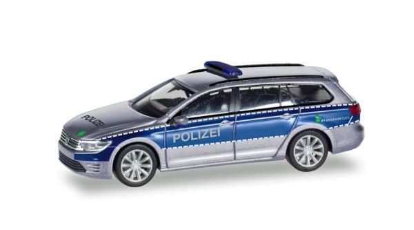 """Herpa 093910 - VW Passat Variant GTE """"Polizei Hamburg"""" - 1:87"""