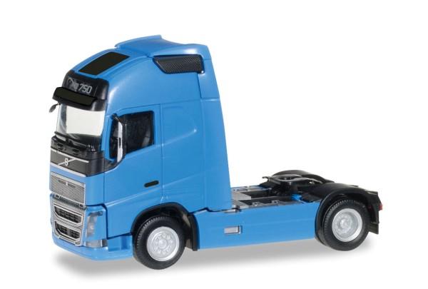 Herpa 303620-003 - Volvo FH 16 Globetrotter XL Zugmaschine, blau - 1:87