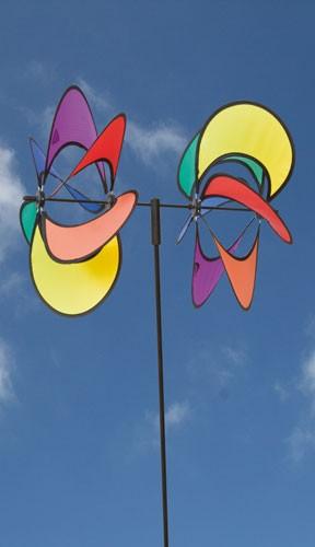 Invento-HQ Windspiel Paradise Flower Duett (35 x 82 cm)