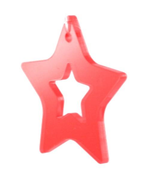 Lichtzauber Zimtstern klein, 10 cm, rot (Elliot 1020723)