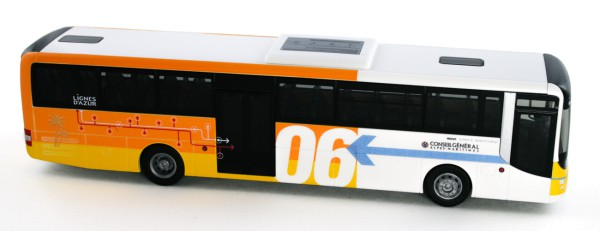 Rietze 74704 - MAN Lion's Intercity Conseil General Alpes-Maritimes (FR) - 1:87