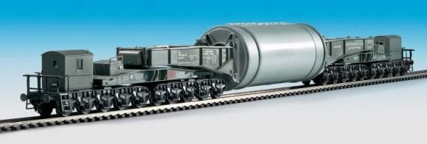 Kibri 16507- Schienentiefladewagen Generatorstator - H0