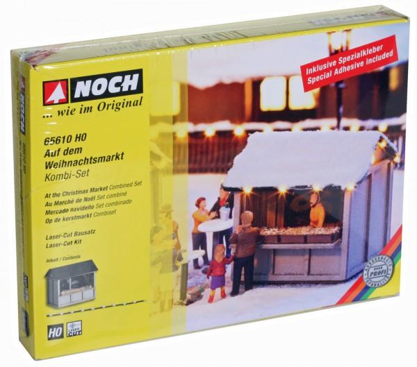 """NOCH 65610 - Kombi-Set """"Auf dem Weihnachtsmarkt"""" - H0"""