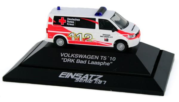 Rietze 53634 - Volkswagen T5 ´10 DRK Bad Laasphe - 1:87 - Einsatzserie