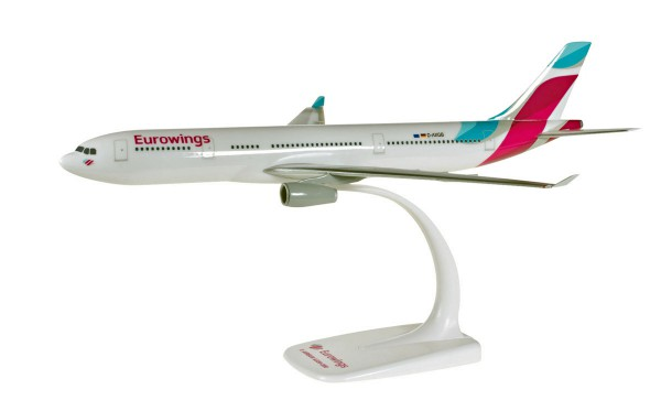 Herpa Wings 611008-001 - Eurowings Airbus A330-200 - D-AXGB - 1:200 - Snap-Fit