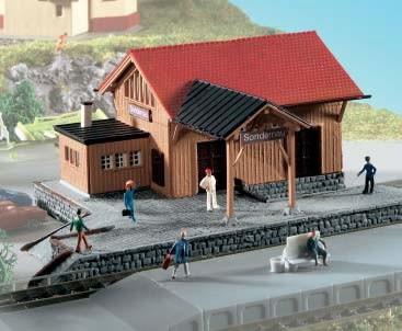 Kibri 37804 (7804) - Güterschuppen Sondernau - N