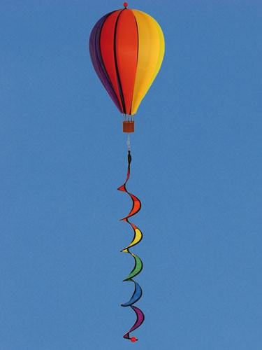 Colours in Motion - Windspiel Satorn Balloon Twister - Ø 23 cm x 105 cm