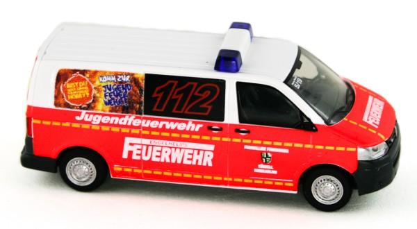 Rietze 53448 - Volkswagen T5 ´10 FW Künzell - Engelhelms - 1:87