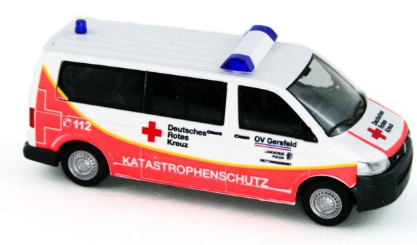Rietze 53637 - Volkswagen T5 `10 Katastrophenschutz OV Gersfeld - 1:87