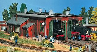 Vollmer 45752 - Lokschuppen 2-ständig - H0 (5752)