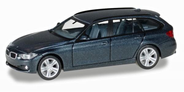 Herpa 038225-002 - BMW 3er Touring™, saphirschwarz metallic - 1:87