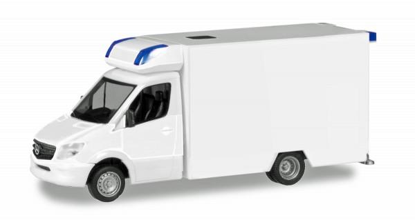Herpa 013390 - Herpa MiniKit: Mercedes-Benz Sprinter Fahrtec RTW, weiß - 1:87