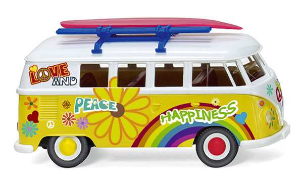 """Wiking 079725 - VW T1 Bus """"Flower Power"""" - 1:87"""