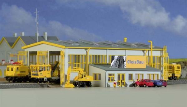 Kibri 39324 - Reparaturwerkstatt GleisBau - H0