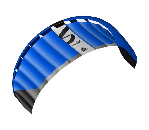 Invento-HQ Lenkmatte Symphony Pro 2.5 Neon Blue R2F (250 x 73 cm)