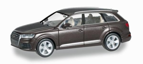 Herpa 038447 - Audi Q7, argusbraun metallic - 1:87
