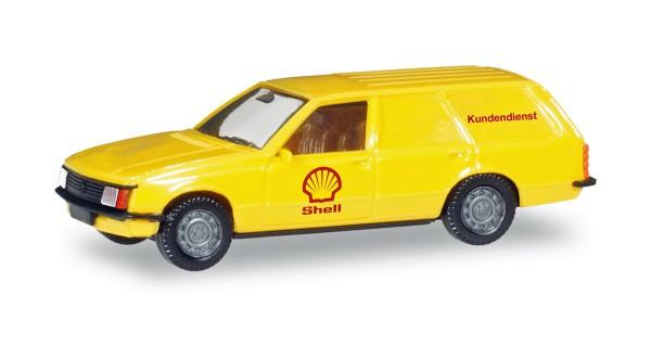 "Herpa 093972 - Opel Rekord Caravan ""Shell"" - 1:87"