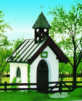 Kibri 39781 (9781) - Kapelle Kühzagl - H0