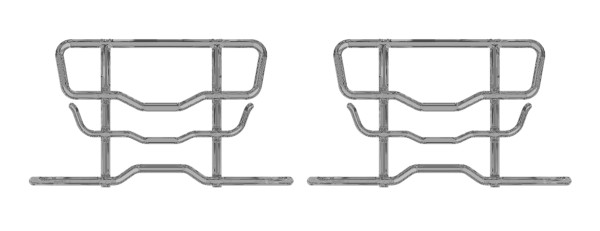 Herpa 053990 - Zubehör Rammschutz HS Schoch für DAF XF SC / SSC, 4 Stück - 1:87