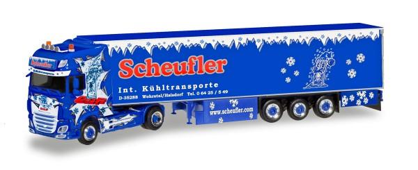 """Herpa 308892 - DAF XF SSC Euro 6 Kühlkoffer-Sattelzug """"Scheufler"""" - 1:87"""