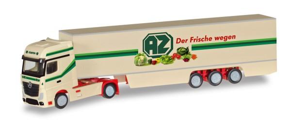 "Herpa 066532 - Mercedes-Benz Actros Gigaspace Koffer-Sattelzug ""AZ Kempen"" - 1:160"
