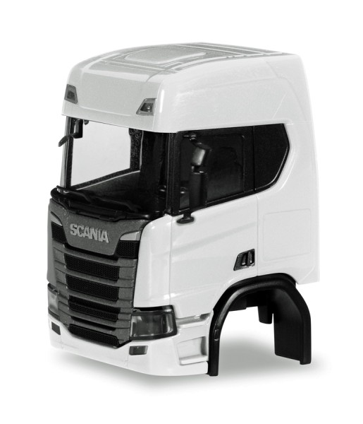 Herpa 084666 - Fahrerhaus Scania CR HD ohne Windleitblech und Chassisverkleidung (Inhalt: 2 Stück) -