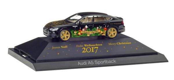 "Herpa 102117 - Audi A5 Sportback ""Herpa Weihnachts-PKW 2017"" - 1:87"