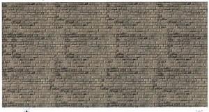 Vollmer 47368 - Mauerplatte Haustein natur - Karton - N (7368) - Fläche: 0,31m²