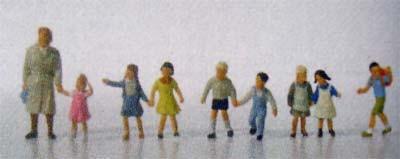 Vollmer 2266 - Kindergärtnerin und Kinder - H0 - Auslaufmodell
