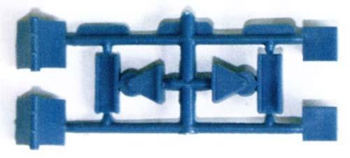 Vollmer 42535 - Widerlager für Metallbrücken - H0 (2535)