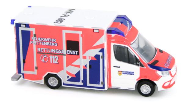 Rietze 76221 - GSF RTW ´18 Feuerwehr Plettenberg - 1:87