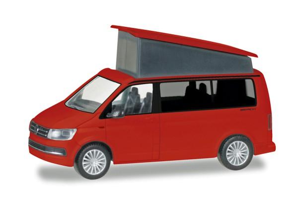Herpa 028745-002 - VW T6 California, kirschrot - 1:87