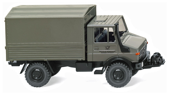 "Wiking 037502 - Unimog U 1700 L ""Deutsche Bundespost"" - 1:87"