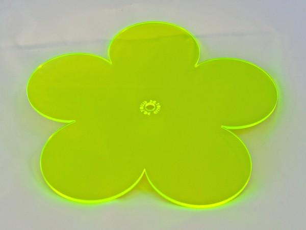 Lichtzauber Sonnenfänger - Blume groß, Ø 20 cm, grün (Elliot 1019071)