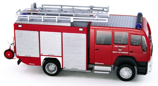 Rietze 68266 - Schlingmann MAN HLF 16 FW Mittenwald - 1:87