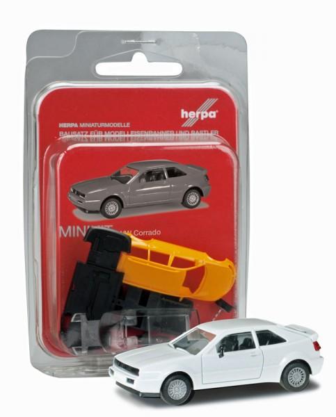 Herpa 012652-003 - Herpa MiniKit: VW Corrado, weiß - 1:87