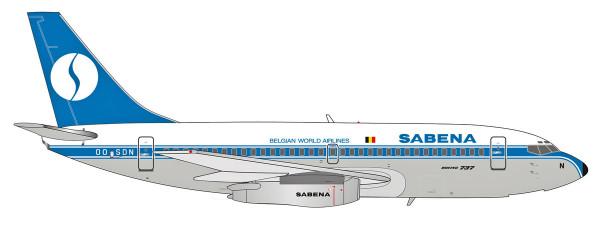 Herpa Wings 559942 - Sabena Boeing 737-200 - OO-SDN - 1:200