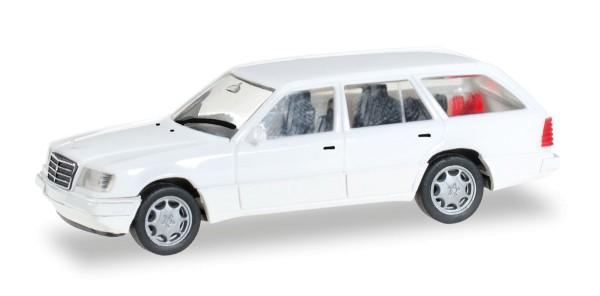 Herpa 028554 - Mercedes-Benz E 320 T (W124), weiß - 1:87
