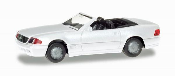 Herpa 028851 - Mercedes-Benz 500 SL (R129), weiß - 1:87