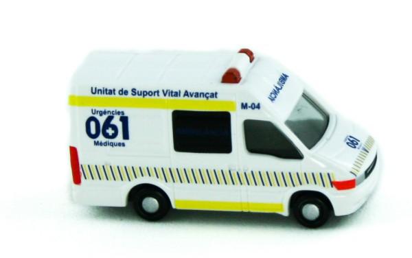 Rietze 16973 - Iveco Daily Ambulancia (ES) - 1:160