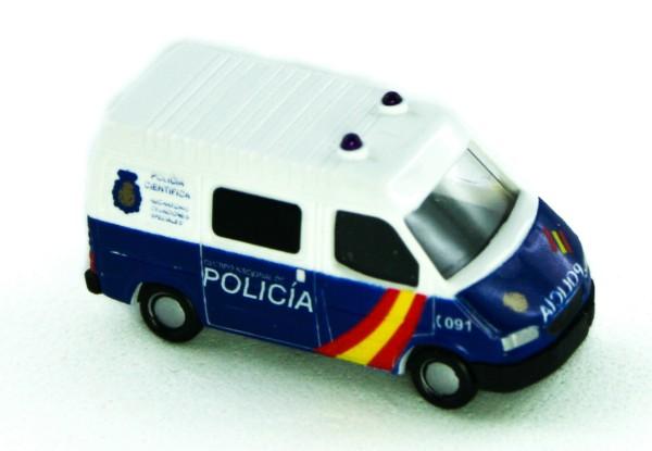 Rietze 16977 - Ford Transit Kasten Policia nacional (ES) - 1:160