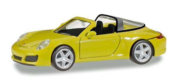 Herpa 028868 - Porsche 911 Targa 4, racinggelb - 1:87
