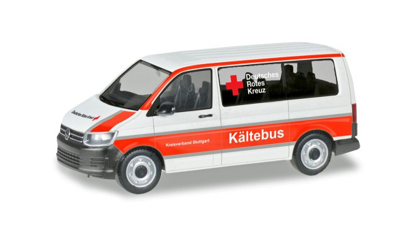 "Herpa 093859 - VW T6 Bus ""DRK Stuttgart / Kältebus"" - 1:87"