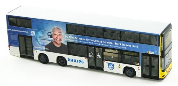 Rietze 67770 - MAN Lion's City DL 07 - BVG - Philips - 1:87 - Collectors Edition