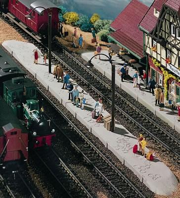 Vollmer 43539 - Bahnsteig Neuffen - H0 (3539)