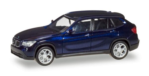 Herpa 034340-004 - BMW X1, estorilblau metallic - 1:87